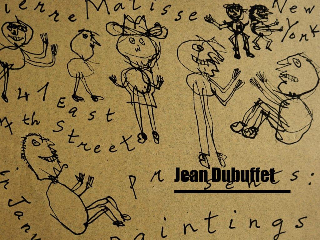 Jean dubuffet matisse