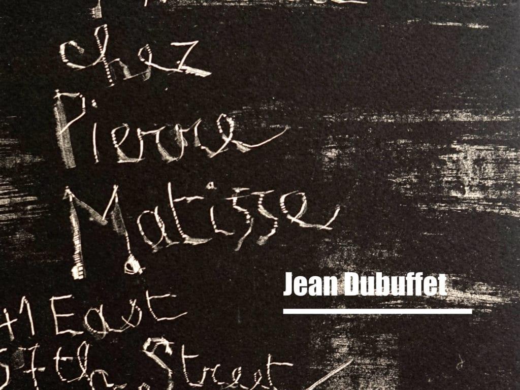 Jean dubuffet matisse 2